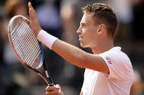 Novak Djokovic ousted by Tomas Berdych
