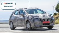 Next-gen Nissan Micra spied testing again