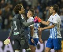 Derby victory eludes unfortunate Malaga