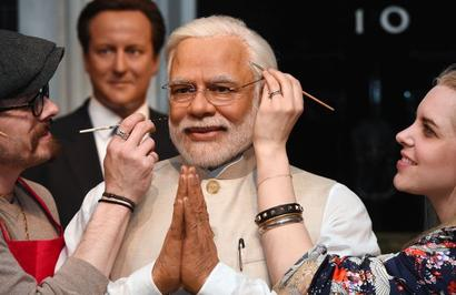 PM Modi takes his place at Madame Tussauds