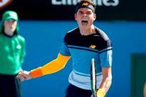Milos Raonic beats Spain's Tommy Robredo, advances to third round
