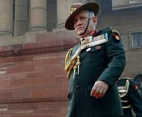 Army chief Gen Bipin Rawat calls for united efforts to tackle stone-pelting