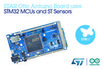 STMicroelectronics and Arduino Launch Cooperation to Expand Maker-Community Access to STM32 MCUs and Sensors