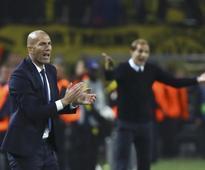 Real 'broken' after squandering lead at Dortmund - Zidane