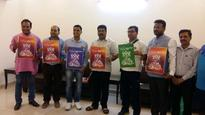 Union Minister Dharmendra Pradhan launches the logo of 3rd Kalinga Literary Festival