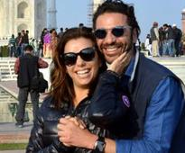 Eva Longoria weds in Mexico