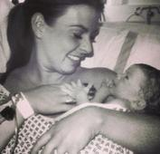 Rooney jubilant as wife Coleen gives birth to newborn son