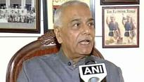 Are Atal Bihari Vajpayee,LK Advani 'anti-nationals' for talking to separatists: Yashwant Sinha