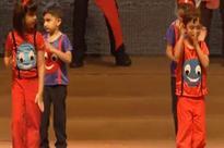 Ash-Abhishek, Aamir watch Aaradhya, Azad's act