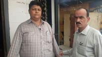 Constable held for allegedly accepting bribe