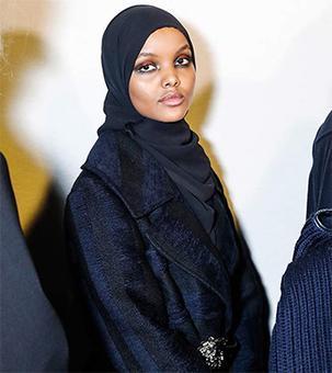Refugee camp to runway: Halima Aden makes Milan debut