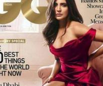 Fearless Anushka goes all red on GQ magazine's December issue