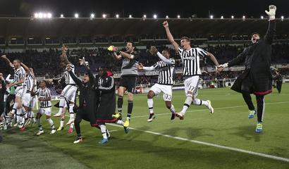 Juventus win fifth successive Serie A title