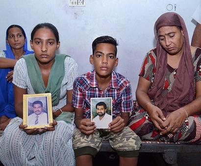 Gurdip's wife appeals for his safe return