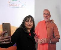 Vijay Rupani taller than Narendra Modi