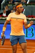 TENIS ROMA - Nadal, Djokovic y Federer comparten lado en la tabla del Masters de Roma