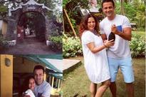 Rohit Roy rings in wedding anniversary with wife Mansi at an Island; see pic