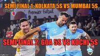 Premier Futsal 2016 semi-final: Giggs' Mumbai 5s v/s Crespo's Kolkata 5s - Live streaming and where to watch on TV in India