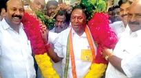 Thumping victory for V Narayanasamy in Pondicherry