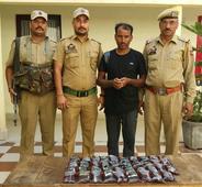 Bootlegger arrested in Vijaypur