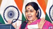 Pakistan's Kashmir dream will never be realised: Sushma Swaraj