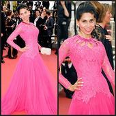 International star Fagun Thakrar looks beautiful at the Awards Ceremony at the 69th International Cannes Film Festival