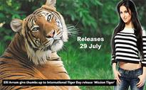 Elli Avram give thumbs up to International Tiger Day release 'Mission Tiger'