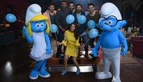 The Smurfs meet Ajay Devgn, Parineeti Chopra and others from team Golmaal!