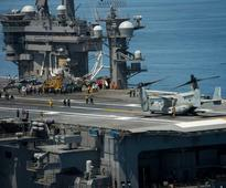 USS Carl Vinson Conducts V-22 Operations For Deck Crew, Pilot Familiarization