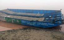 Boat with Pakistani markings found on Ravi river in Punjab's Gurdaspur