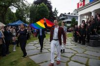 Diplomats in Oslo Celebrate Pride 2016
