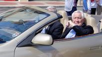 Goulburn's own James Bond, George Lazenby is back for Spyfest