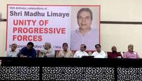 Unite or there will be nothing left: Oppn comes together on Limaye's birth anniversary