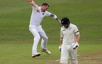 Durban Test: Dale Steyn bags New Zealand openers before rain