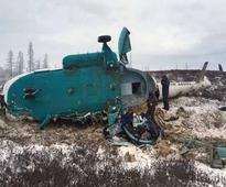 Russian copter crash kills 19