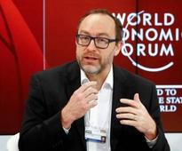 Wikipedia co-founder's Twitter account hacked