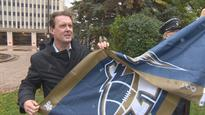 Brian Bowman's Blue Bomber bet bumps rival flag up in Regina