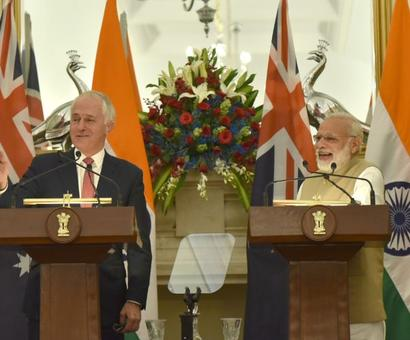 India, Australia ink pact to expand counter-terror cooperation