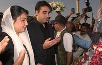 Bilawal, Aseefa visit Jehangir Bader's residence, offer fateha