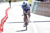 Pinot wins Romandie time trial, Quintana keeps lead