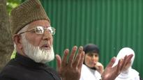 Hurriyat leader Geelani criticises UN Secy General for not mentioning Kashmir