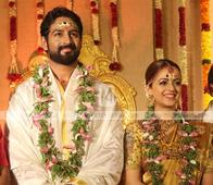Actress Bhavana ties knot with Naveen in Thrissur today