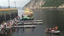 Ramp collapse on Saguenay River wharf blamed on weak timber