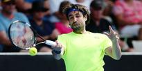 Tennis: Marcos Baghdatis talks after booking his semifinal spot