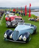 1936 Lancia Astura wins the 66th Pebble Beach Concours dElegance