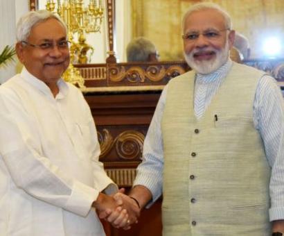 Nitish reveals real reason behind meeting PM Modi