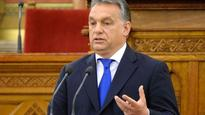 Hungarian leader says US wants to see Europe fill up with migrants