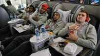 Ohio State flew to the Fiesta Bowl in this ridiculously lavish plane