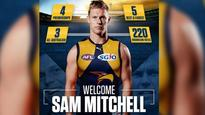 AFL fixture 2017: Sam Mitchell to tackle Hawks in round five