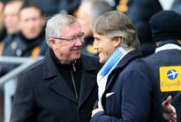 Ferguson 'amazed' by City's sacking of Mancini
